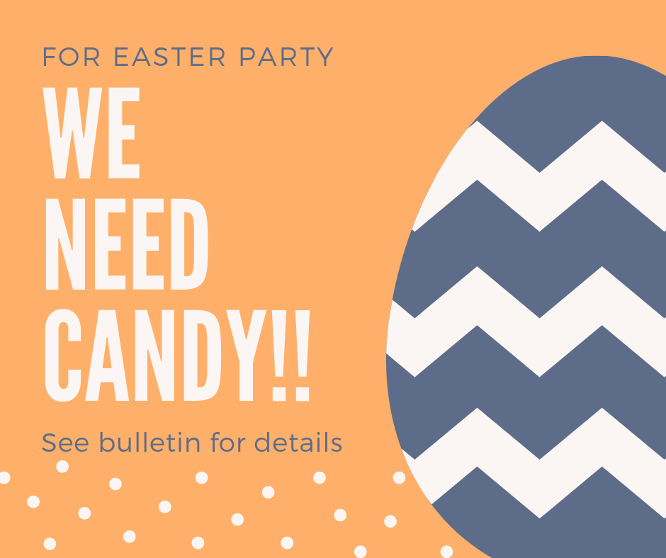 Candy Donations Needed!