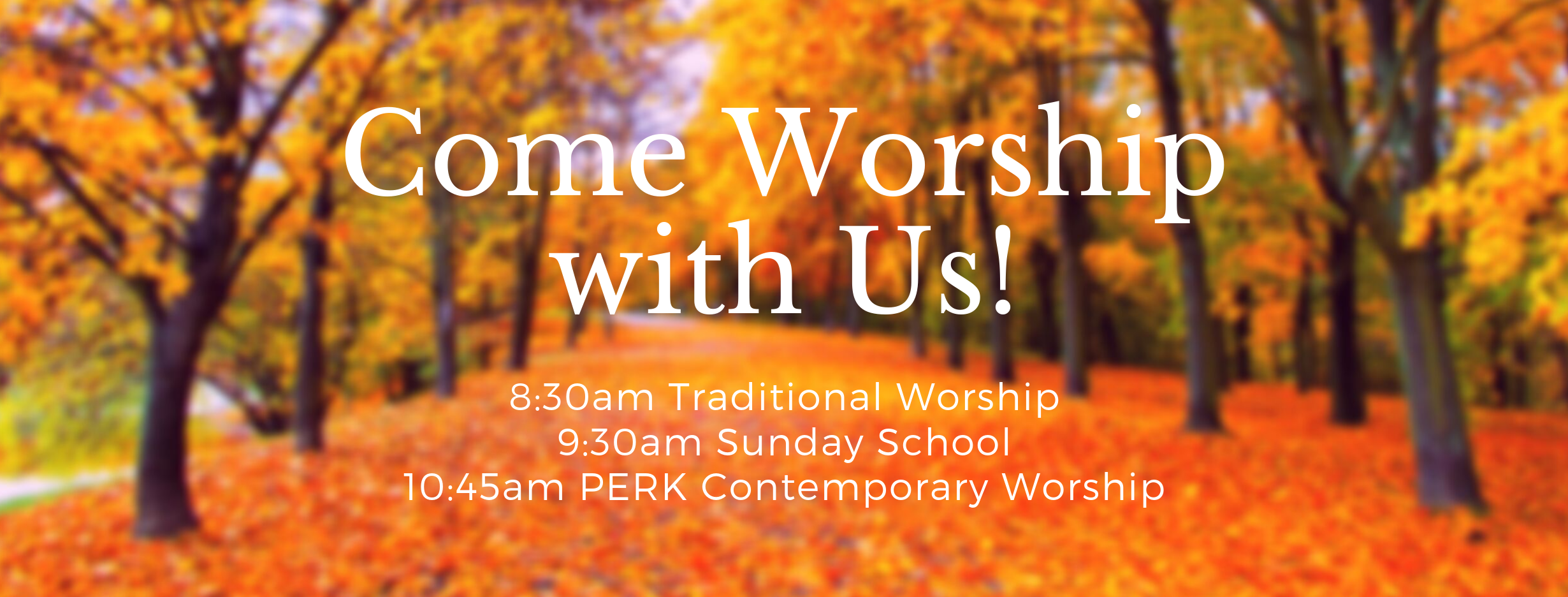 Worship with Us! (1)